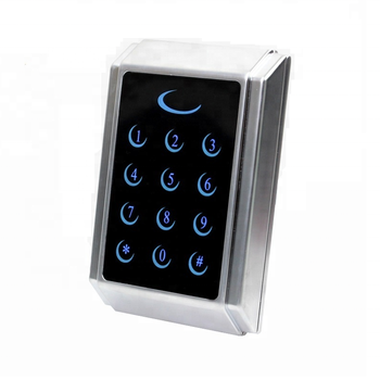 High-end Metal Touch Panel Rfid Card Access Control And Attendance Machine