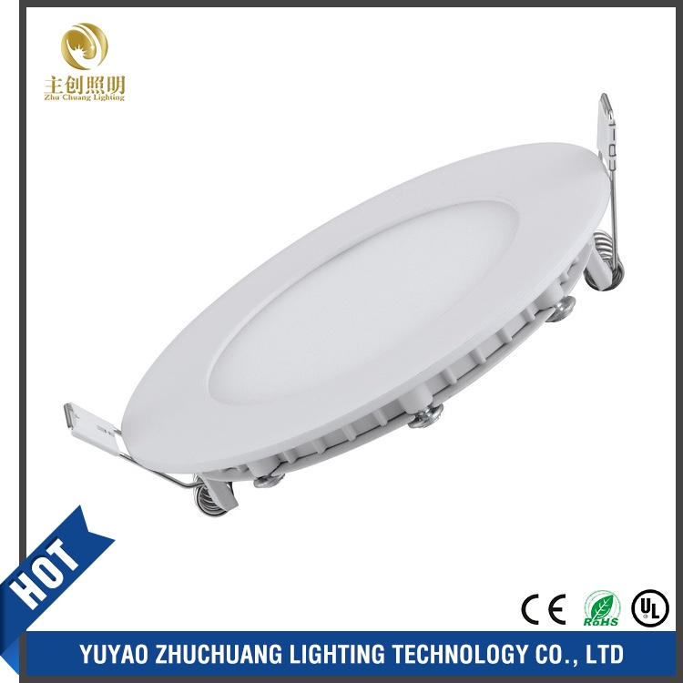 HOT CE,ROHS,3w AC175-250V panel light led round panel lights,Ultra-thin led downlight