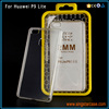 HQ 2MM Prism Crystal Clear Transparent TPU Phone Cover Case For Huawei P9 Lite