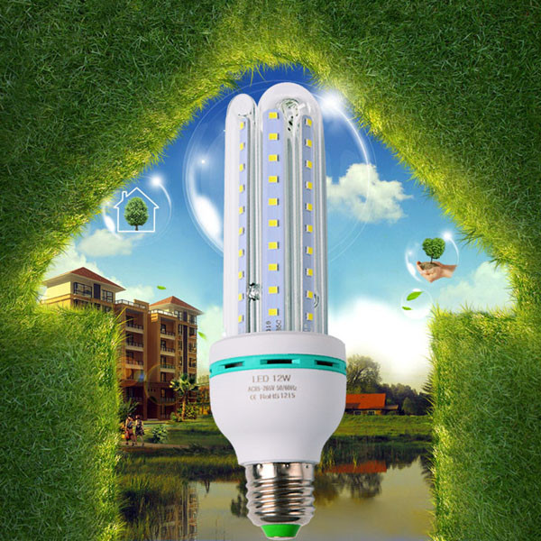 E27 7w 6000K e27 energy saving light 4U led corn light bulb for indoor