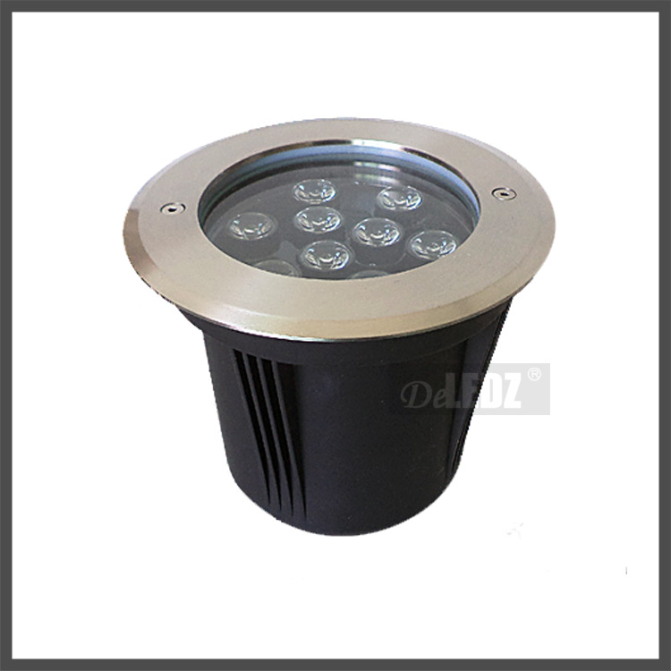 DeLEDZ Pool light IP68 UWL901 9w circular led ingroud light waterproof led pool light