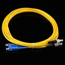 Fiber Optical cable jumper cable with din connectors