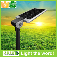 Aluminum Lamp Body Material IP67 IP Rating solar led street lamp light