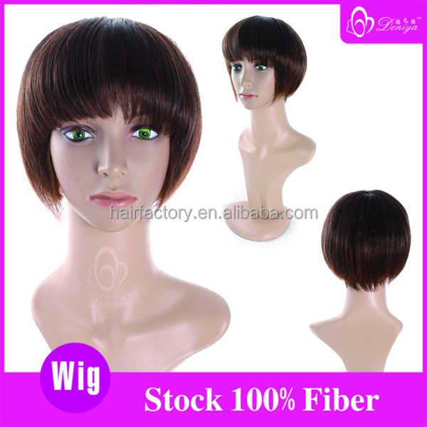 China manufacturer wholesale good quality OEM synthetic hair wig