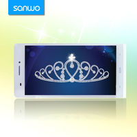 6 inch big touch screen mobile phone android smartphone