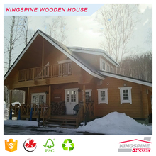 wooden house model ready made wooden house two-storey wooden house