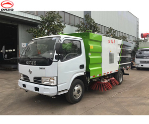 superstructure or super body or vacuum road sweeper truck matching India TATA truck