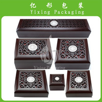 YX antique design precious wooden box for jewelry