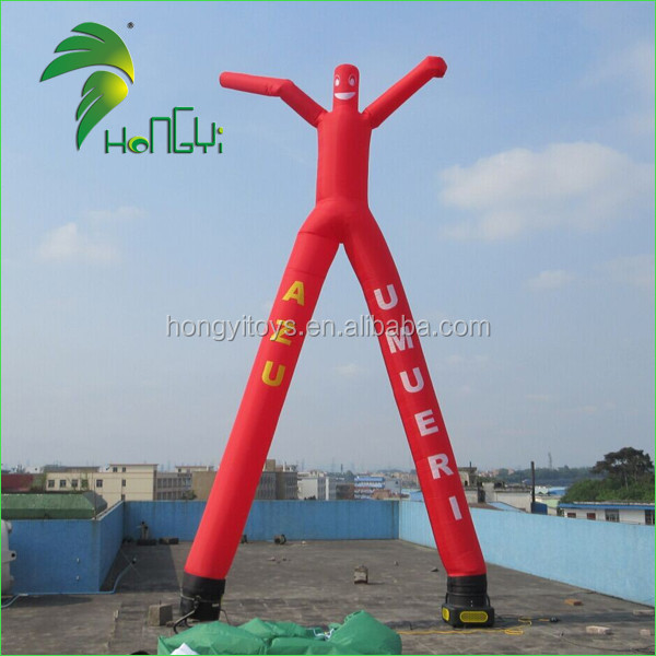Blow up Inflatable Sky Dancer / Mini Inflatable Air Tube Man / Air Dancer With 2 Legs
