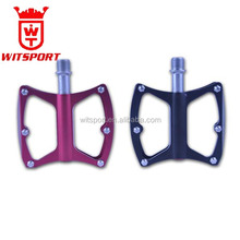 anodized colored 3 bearing antiskid bicycle pedal factory price