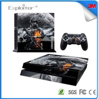 Super quality hot selling vinyl skin army skin sticker for playstation 4