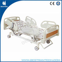 BT-AE009 China factory sale 5 function electric hospital bed positions nursing