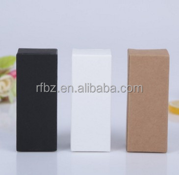 supply order 10ML to100ML essential oil bottle cosmetic packaging box cosmetics kraft paper box in stock