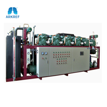 R404a/CO2 Cascade Compressor Refrigeration Unit for Commercial Refrigeration