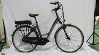700C lithium battery city style e-bike/electric bicycle with 8FUN/bafang central motor for European market