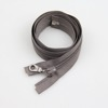 Gray Common Tape Long Chain Heavy Duty Tent Nylon Zipper Factory