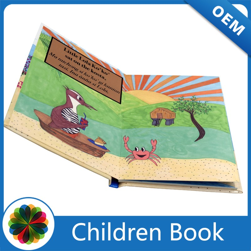 Children Cardboard Book Printing, board book printing for kids