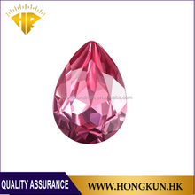 Wholesale Drop Rose pointback crystal for Nail art or Phone Case