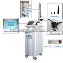 beijing co2 fractional laser for skin peeling resurfacing scar removal pigment diminish