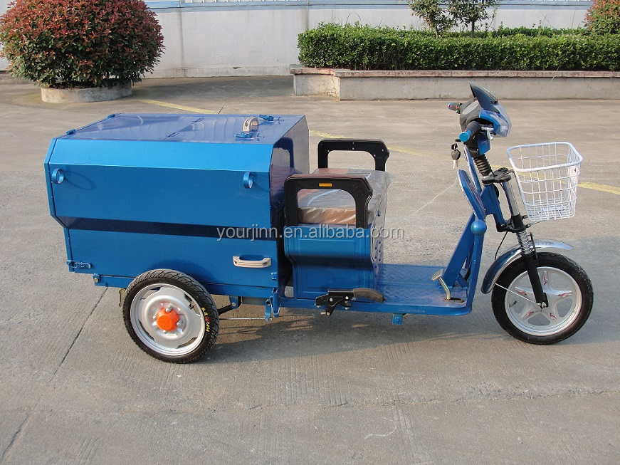 China dirt cheap electric garbage tricycle
