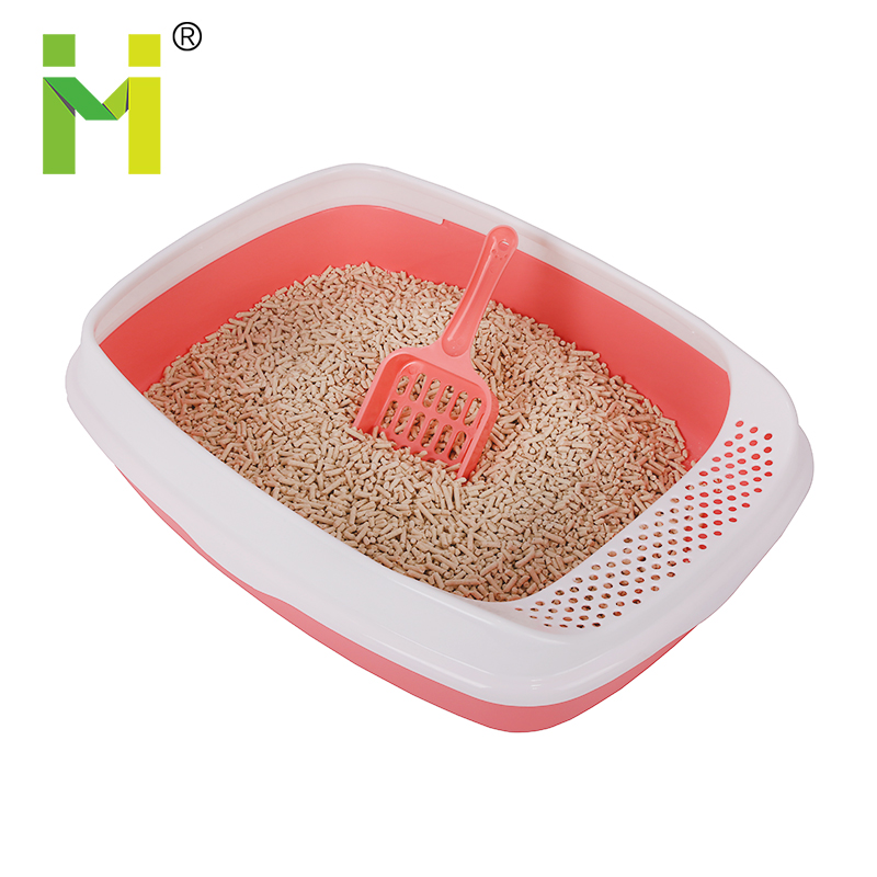 Cat Litter Box/Litter Tray with Seive