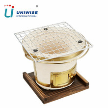 Portable Tabletop Clay Pot Oven Japanese Ceramic BBQ Brazier Shichirin Hibachi BBQ Grill for Sale