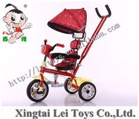 Ride On Toy Style and ride or push Power Aluminum alloy frame Children tricycle/baby seater