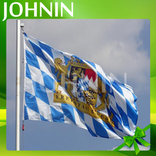 Good quality professional manufacture 3*5ft polyester Bavaria lion flag