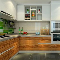 Pvc kitchen cabinet door price modular kitchen cabinet color combinations