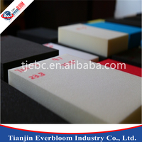 High density 9mm expanded polyurethane foam air duct sheet, PVC foam sheet