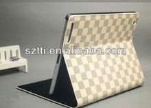 2013 new product hot selling leather case for ipad mini from shenzhen factory