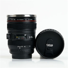 Zogift New EF 24-105mm Camera Lens Travel Coffee Mug / Cup / Thermos with Stainless Steel Interior