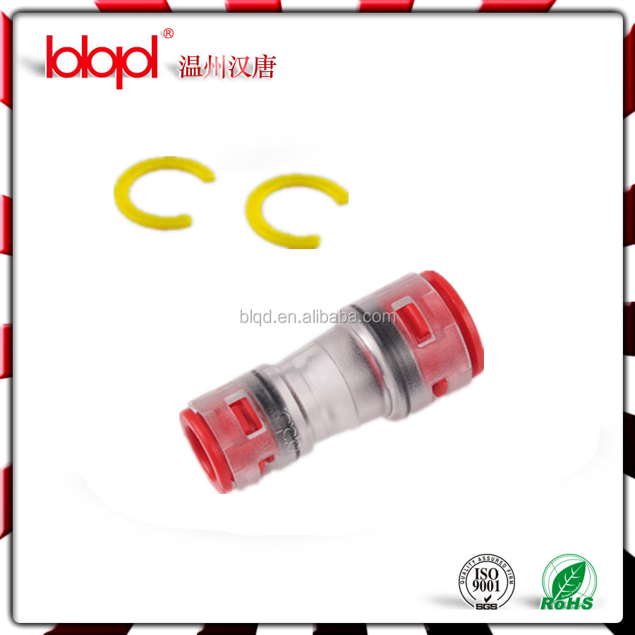 Reducer fittings(HDPE),reducering coupling,fiber optical fast connector for FTTH,Clear Plastic PVC Pipe Fittings