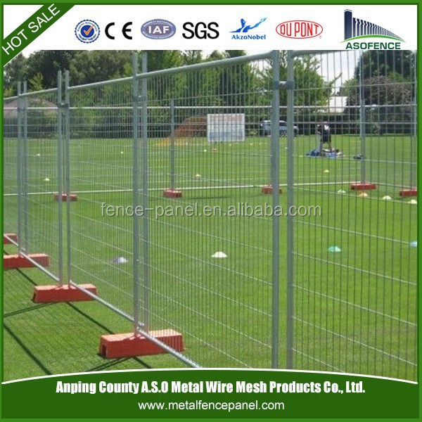 Alibaba China Factory supplys Galvanized flat panel fence gates