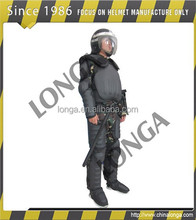 High quality of PC and high anti puncture riot control suit