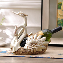 Exquisite Swan Wine Bottle Holder