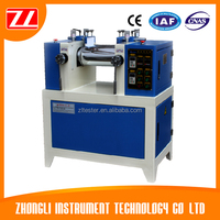 Lab Twin Roll Open Rubber Mixing Machine