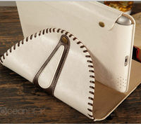 2013 high quality Unique design stand PU leather cover case for apple ipad air