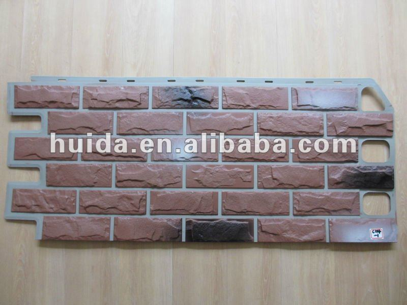 faux stacked stone panels artificial garden wall stone brick