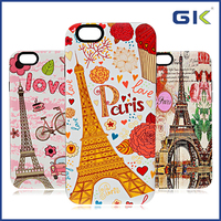 [GGIT] Luxury Eiffel Tower Design 2 in1 Phone Case For IPhone 6 Back Cover