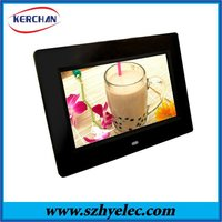 New led panel 10.1 inch lcd memories digital photo frame with clock and calendar(DPF9102)
