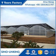 SINOLINKING supply keep warming greenhouse equipment for vegetable