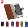 Factory Wholesale Luxury Book Style Flip Wallet PU Leather Cover Case for Blackberry Curve With Credit Card Holder