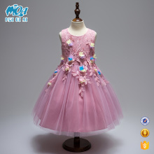 Wholesale Kids Clothes Girls Bridal Dress Elegant Birthday Party Dress With High Quality L561