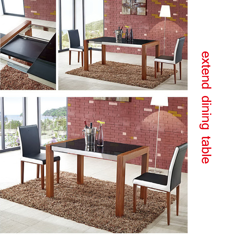 Simple Design Dining Room Table Parts Glass Tabel And Marble Top