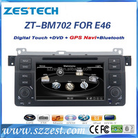 ZESTECH Car DVD Player Stereo In Dash GPS Navigation Receiver With Bluetooth for BMW 3 Series E46
