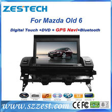 ZESTECH best price car stereo for Mazda 6 car stereo with GPS,buletooth,ipod,2004 2005 2006