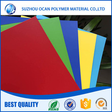 High Impact Plastic Sheet 1.5mm Thick Colours Vacuum Forming pvc Material