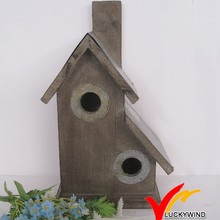primitive shabby chic country style wooden outdoor cages for birds