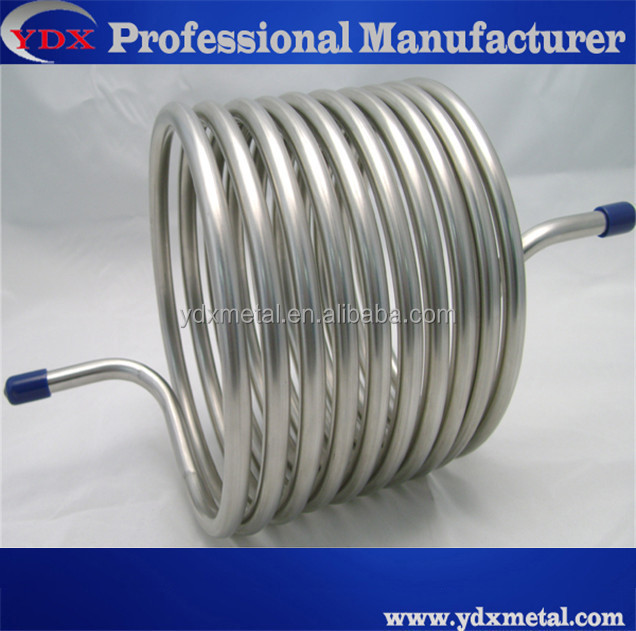 stainless steel cooling coil tube